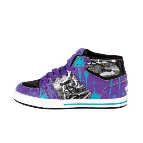 Womens Globe Mace Hi Skate Shoe - Black