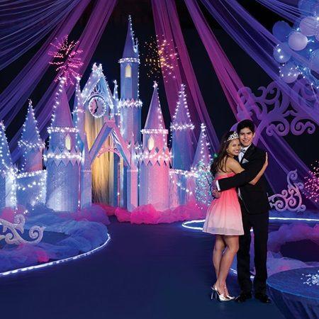Castle Dazzle Complete Prom Theme