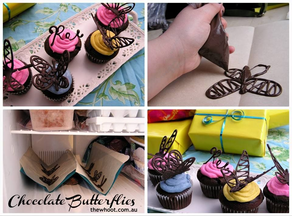 Bitterfly Cupcakes