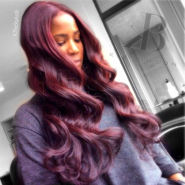 STYLIST FEATURE| Love these #waves done by #AtlantaStylist @KtheStylistB on @Rachel_Redd❤️ This color is FLAWLESS #VoiceOfHair ========================= Go to VoiceOfHair.com ========================= Find hairstyles and hair tips! =========================
