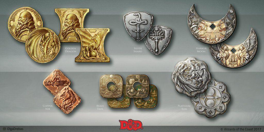 d&d coins 5e