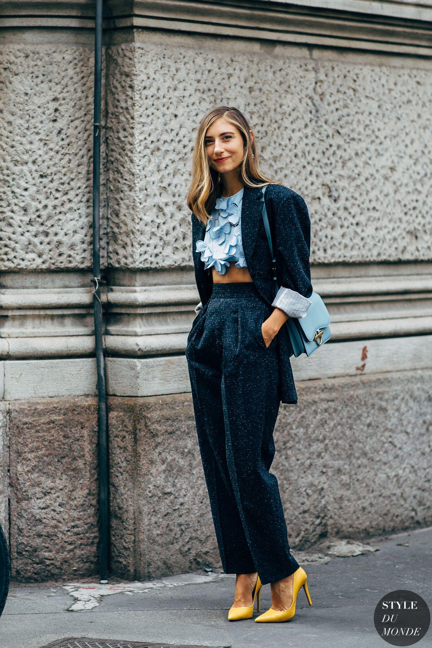 Milan SS 2019 Street Style: Jenny Walton