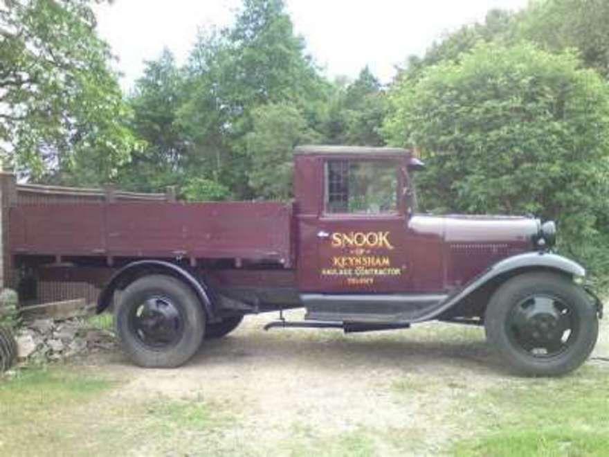 1936 cars and trucks | ... of desert classics 1930 ford model aa ...
