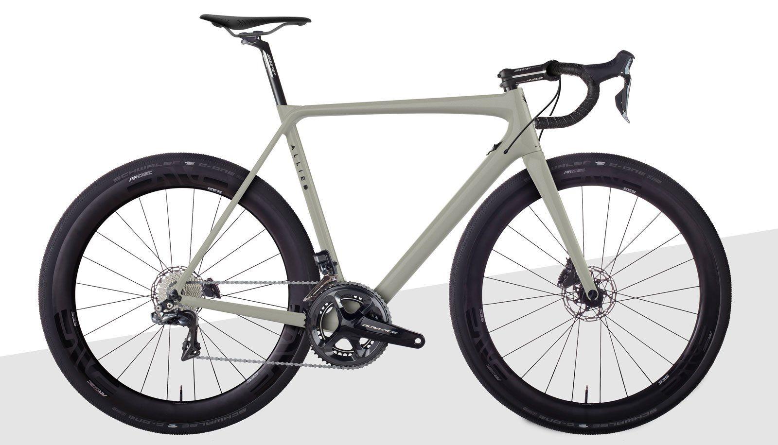 Allied Alfa Allroad Usa Made Carbon Fiber Road Bike Allied