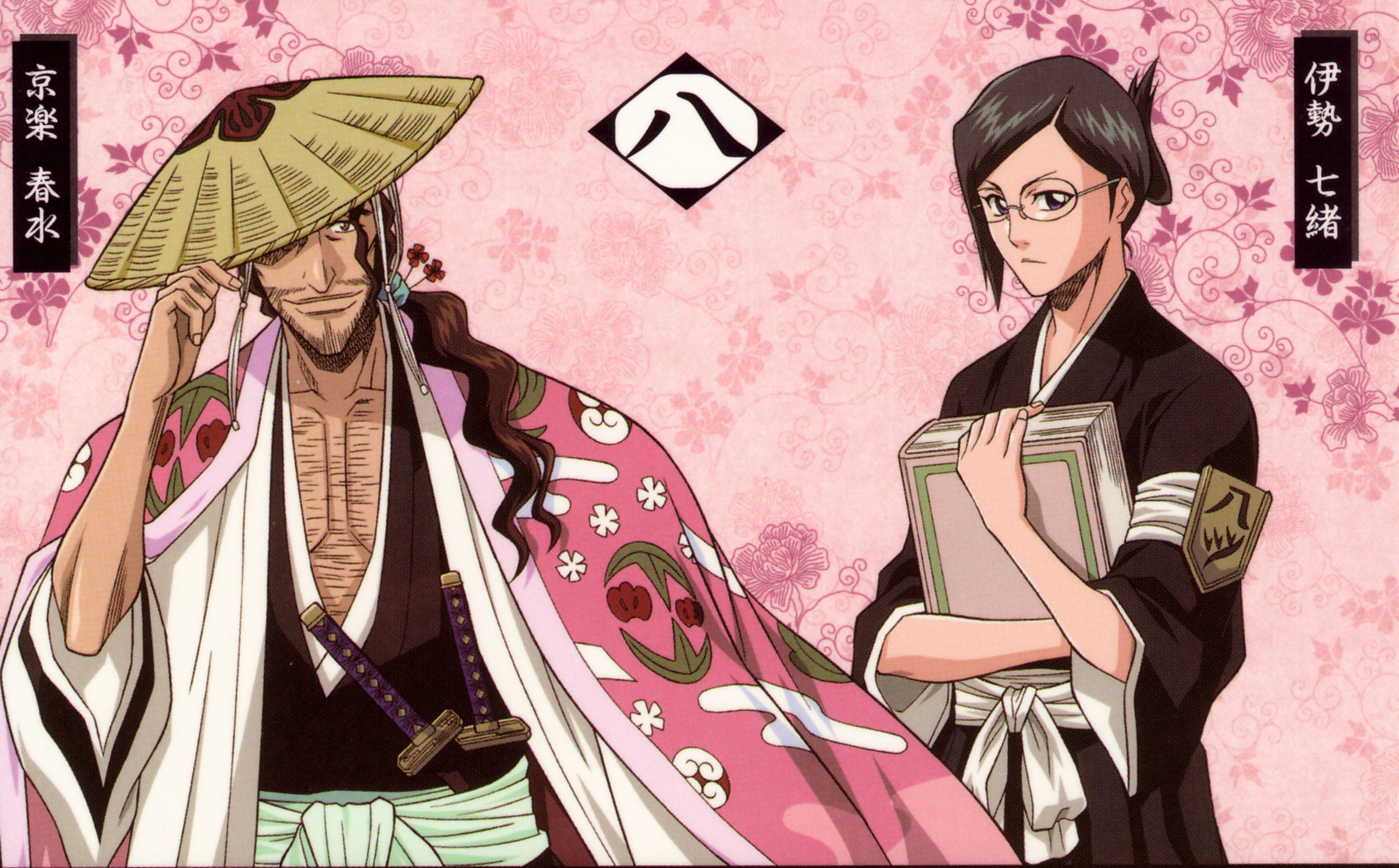 shunsui and nanao relationship questions