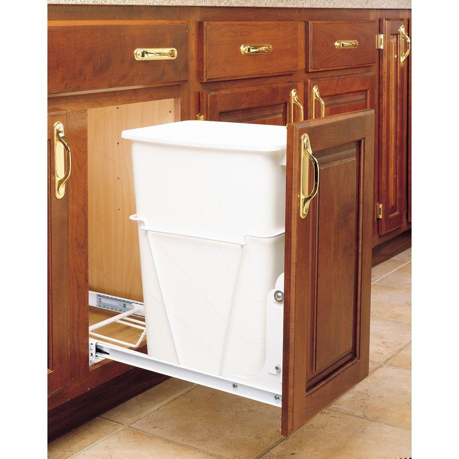 Rev-A-Shelf 35-Quart Plastic Pull Out Trash Can   Kitchen ideas ...
