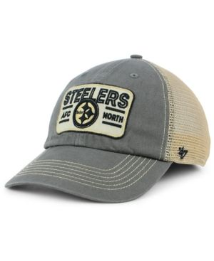 brand new 01d4b e17ba  47 Brand Pittsburgh Steelers Sallana Mesh Clean Up Cap - Blue Adjustable.
