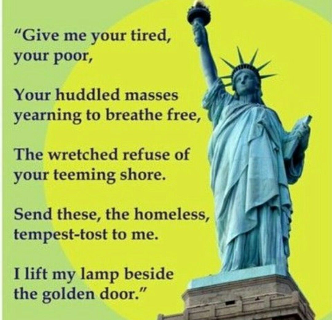 Statue Of Liberty Quote Pinjennifer Carnes On Quotes I Like  Pinterest