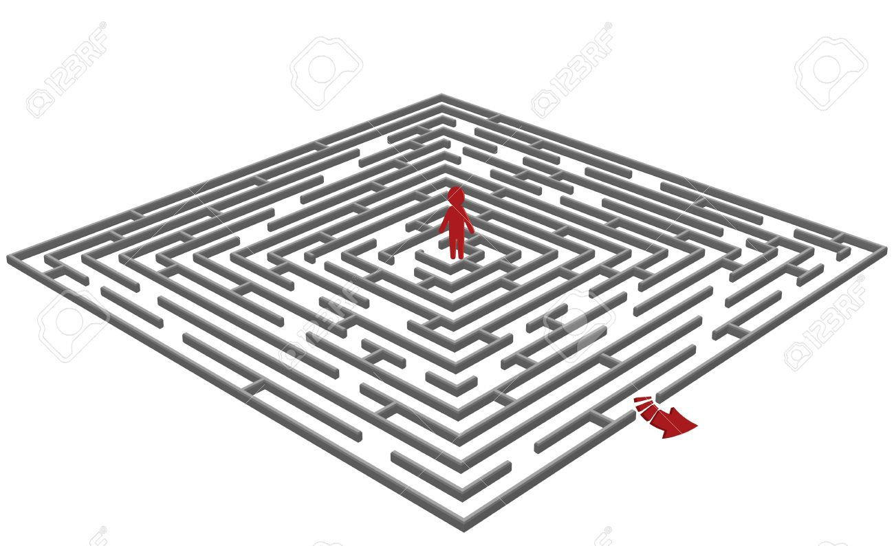 Maze Vector Free Pinterest Searching Circuit Classical Labyrinth From A 5circuit Chartres