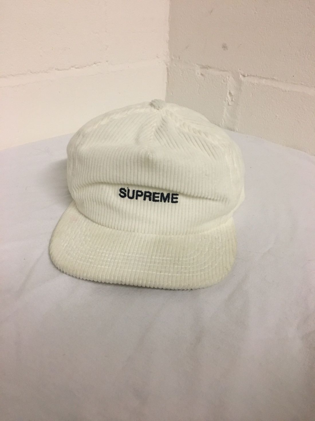 2c1d7f9830f Supreme Corduroy Trucker Hat Size One Size  31 - Grailed