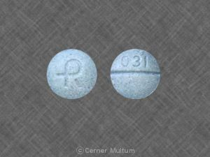 picture of blue xanax pills