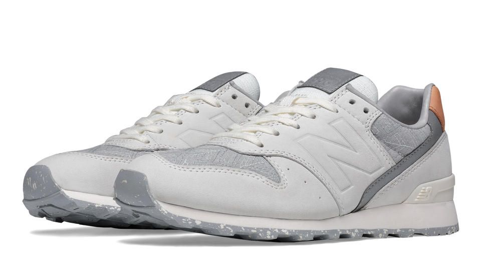 New Balance 996, Sea Salt with Silver Mink
