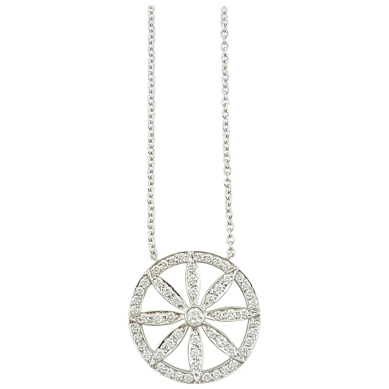 Tiffany co diamond platinum circle flower pendant necklace tiffany co diamond platinum circle flower pendant necklace aloadofball Gallery