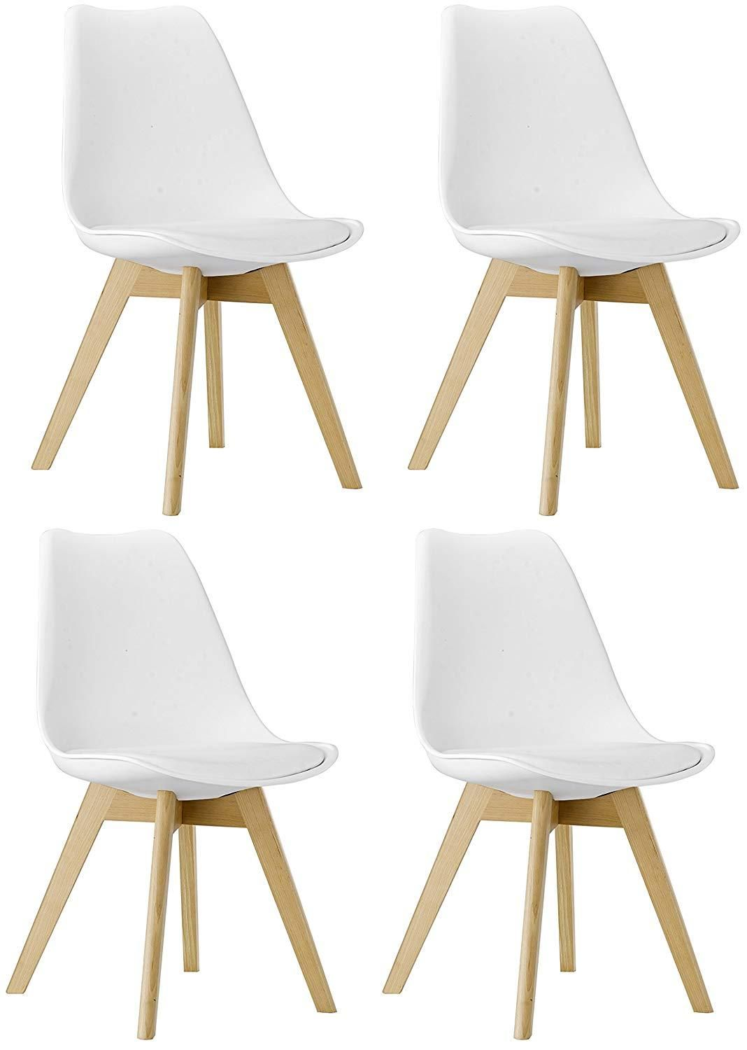 Cool M5079 Naba Modern Midcentury Wood Leg Soft Padded Upholstery Pabps2019 Chair Design Images Pabps2019Com