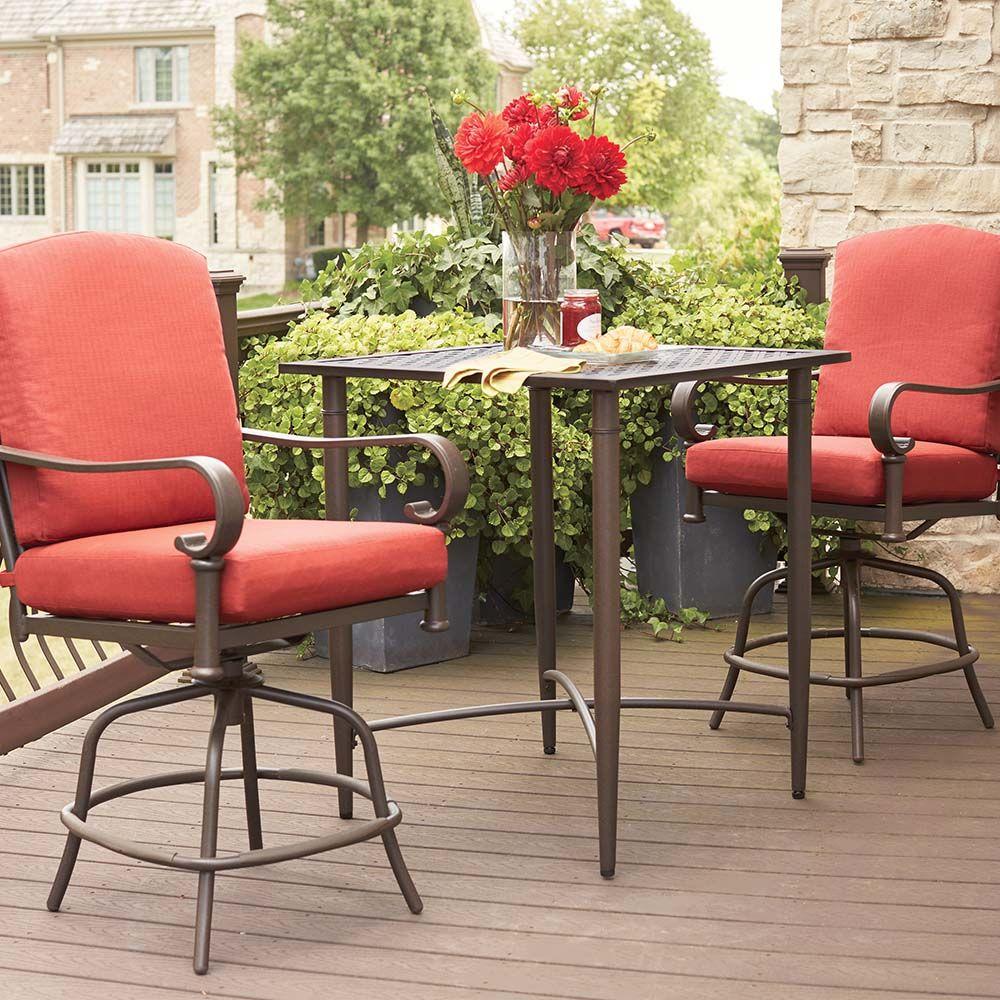 Oak cliff collection u outdoors u the home depot backyard designs