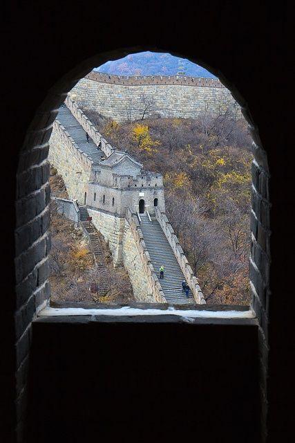 """""""A Grande Muralha"""". China."""