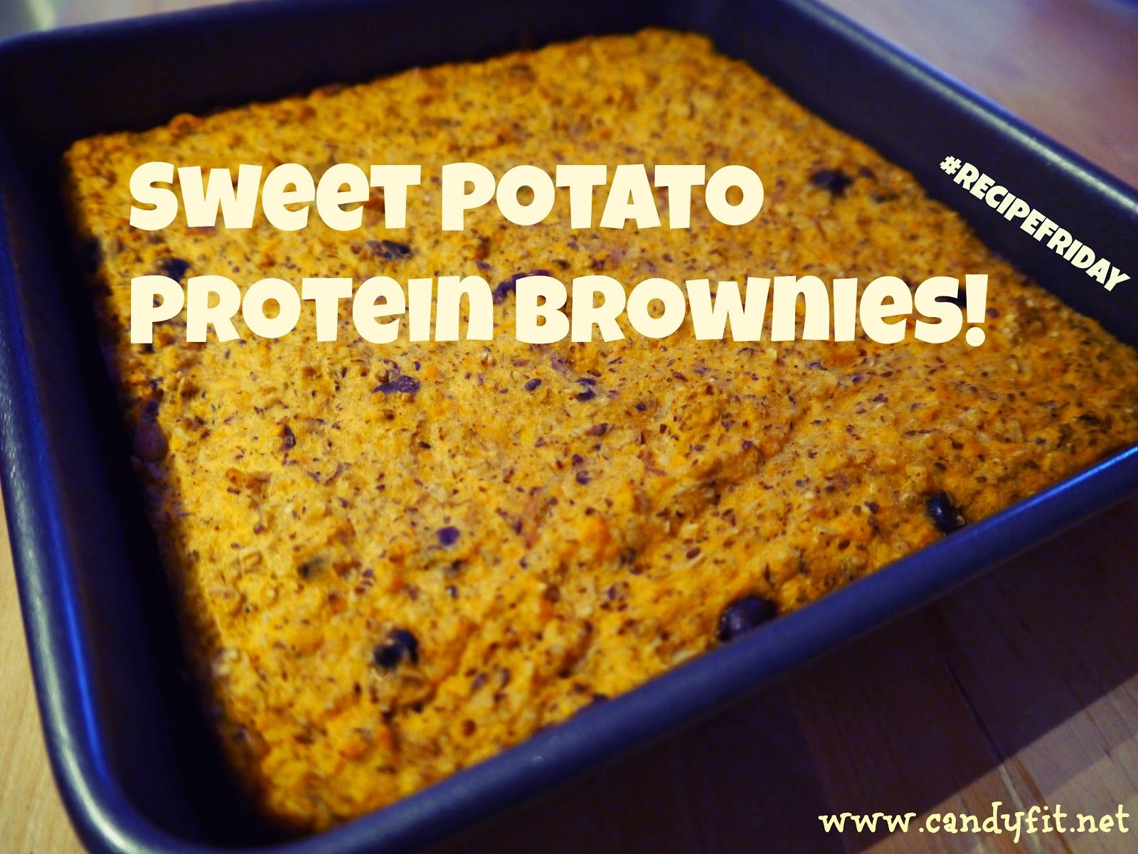 *CaNdY FiT*: #RECIPEFRIDAY: Sweet Potato Protein Brownies (or bites)! #fitfluential #EAT