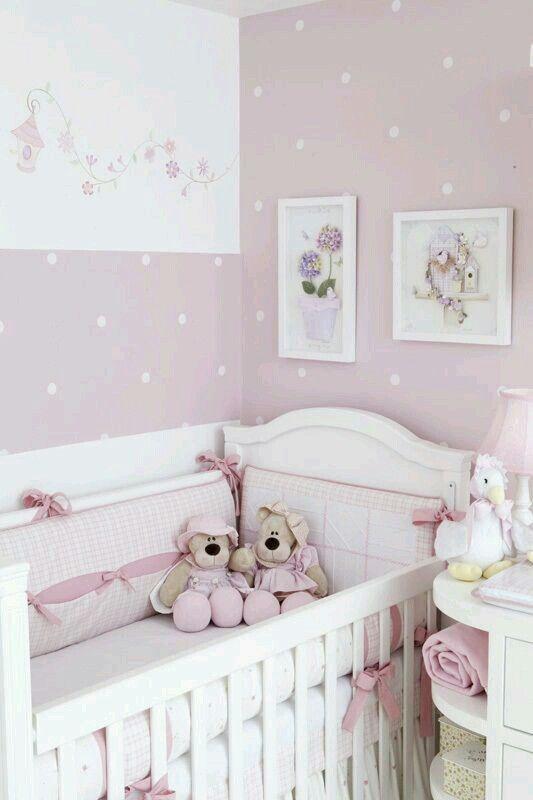 Decoración habitación bebé niña | Decoración y bebés | Pinterest ...