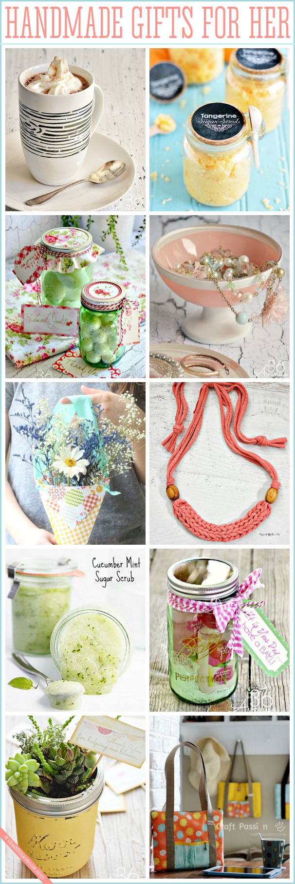 Handmade Gifts for Women Homemade gifts, Diy gifts