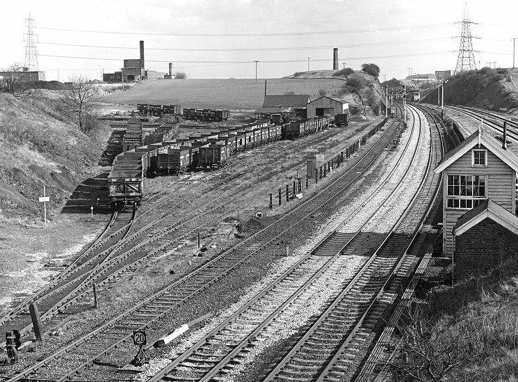 Lockes Sidings Signal Box Near St Johns Colliery
