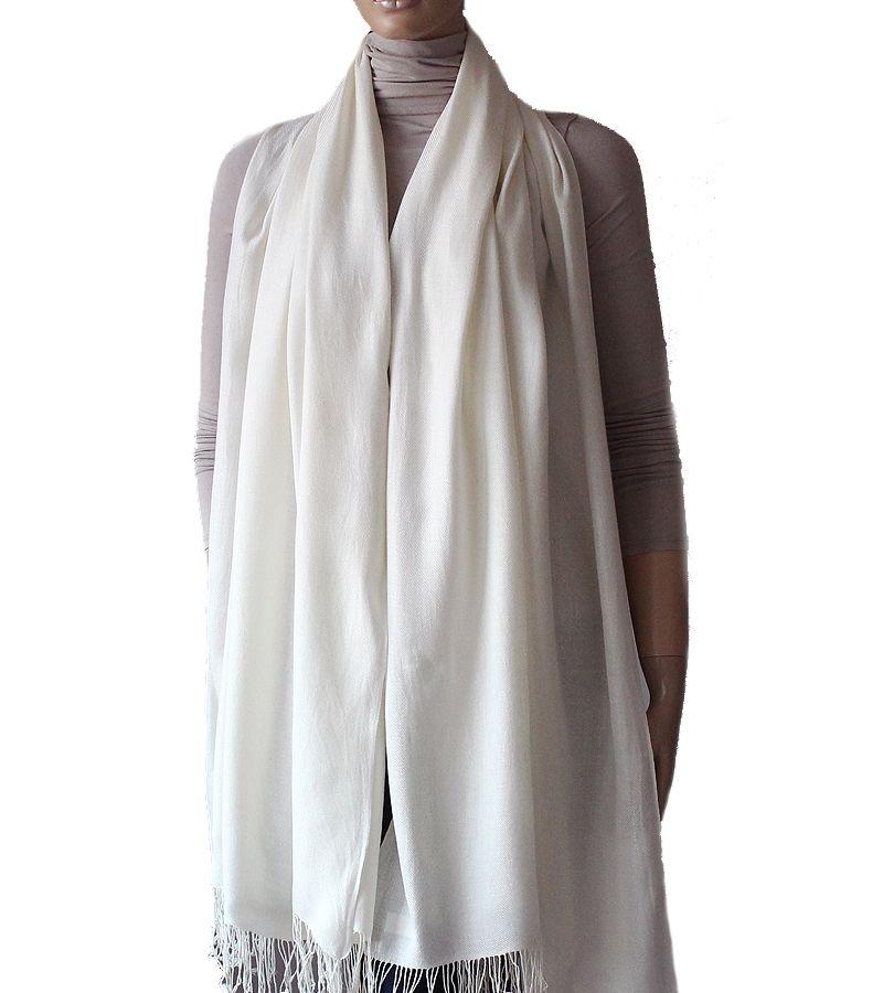 Ogromny Bialy Delikatny Szal Czysta Biel 205 80cm 7226955530 Oficjalne Archiwum Allegro Coat Duster Coat Fashion