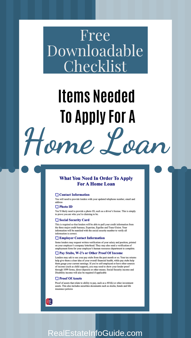 Loan Docs Checklist Home Loans Loan How To Apply