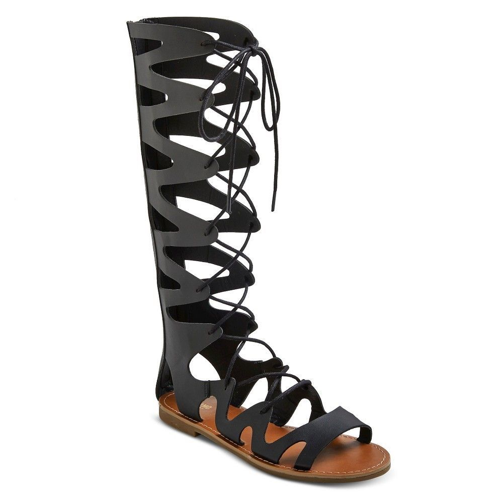 b8202a3b0155b Black Mossimo Gladiator Sandals
