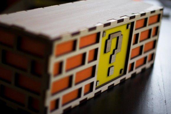 Nintendo Super Mario Question Block Light Large Super Mario