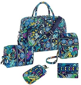 52c01c703a35 Vera Bradley Midnight Blue Travel Bag  231