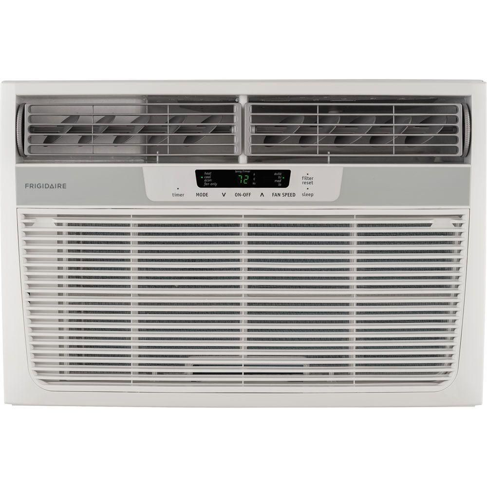 Frigidaire 8 000 Btu 115 Volt Compact Slide Out Chassis Air Conditioner And Heat Pump With Rem Room Air Conditioner Window Air Conditioner Wall Air Conditioner