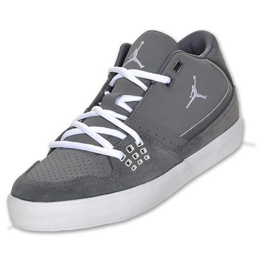 9a13bbe1928 Jordan Flight 23 Classic Low Men's Basketball Shoes | FinishLine.com | Dark  Grey/White