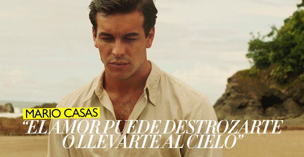 """Mario Casas: """"El amor puede destrozarte o llevarte al cielo"""""""