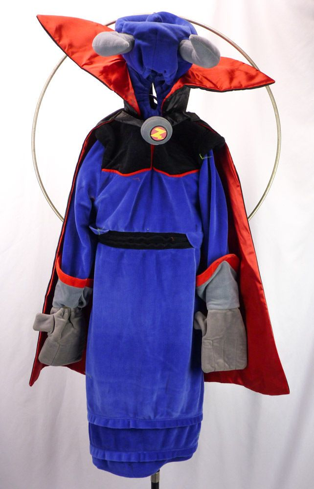 evil emperor zurg disney store toy store halloween costume deluxe size s 4 5 6 - Store For Halloween Costume