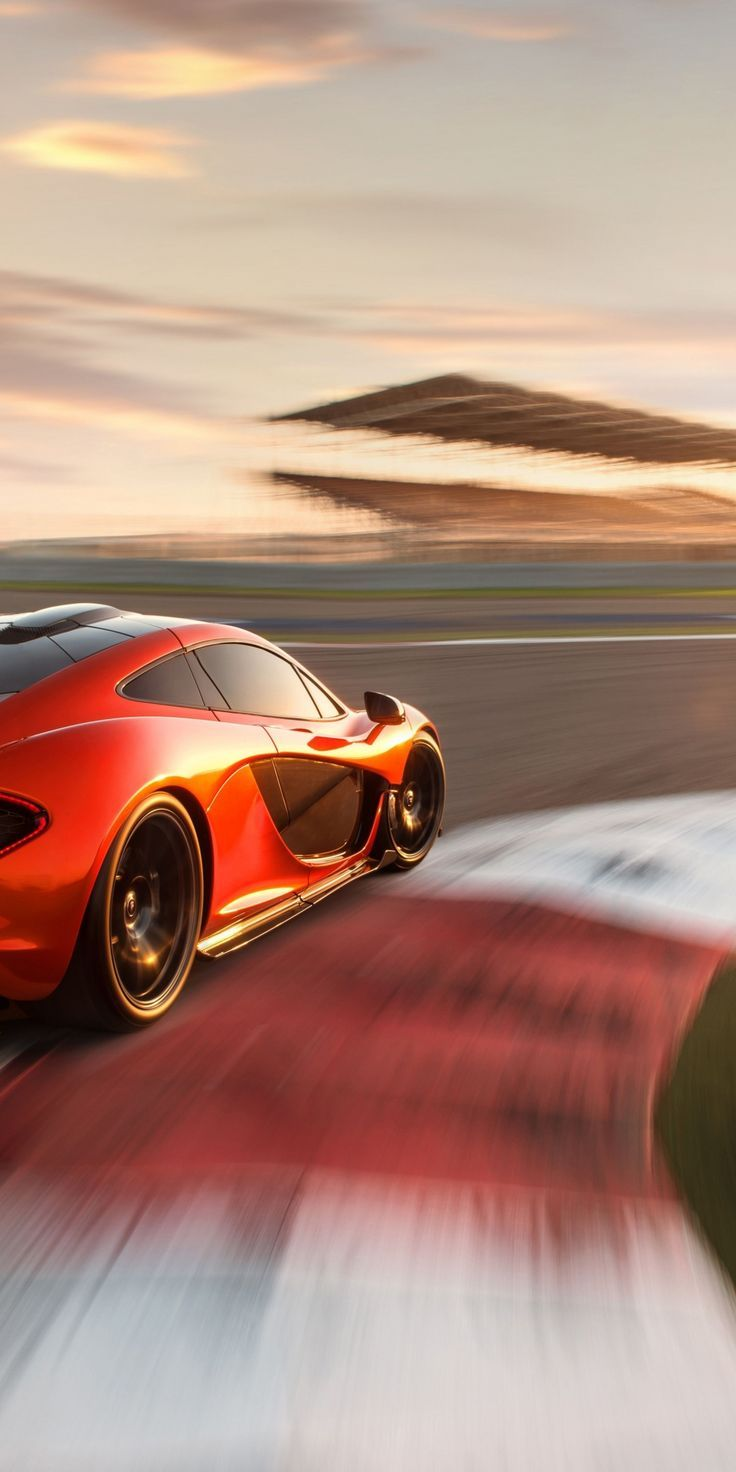 jawdropping wallpaper McLaren P1 sports car ontrack