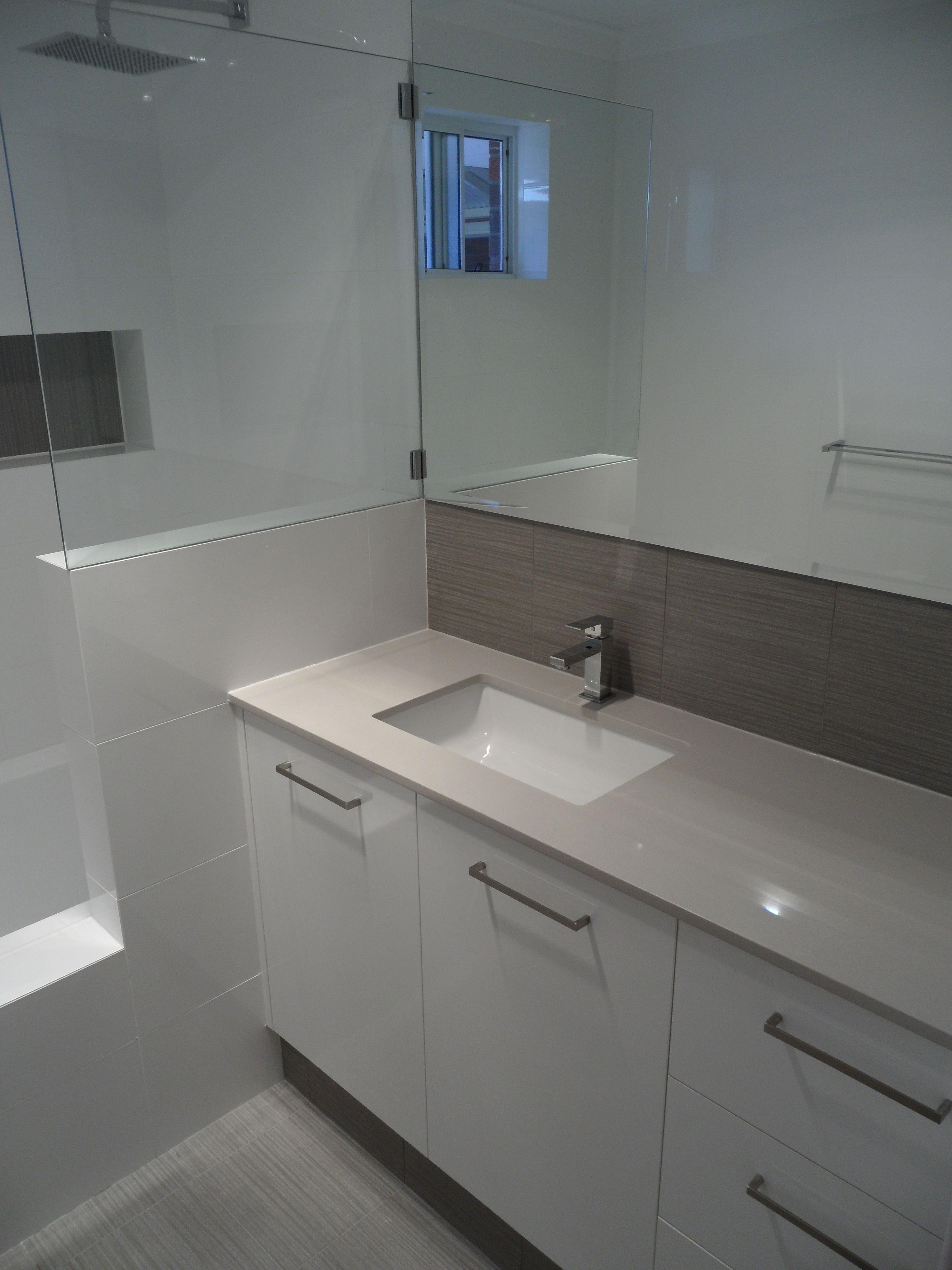 Best Undermount Bathroom Sink Design Ideas Remodel: Hillary's Bathroom Renovation. New Layout, Custom Vanity
