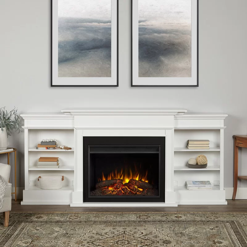 Ashton Grand Media Electric Fireplaces In 2020 Media Electric