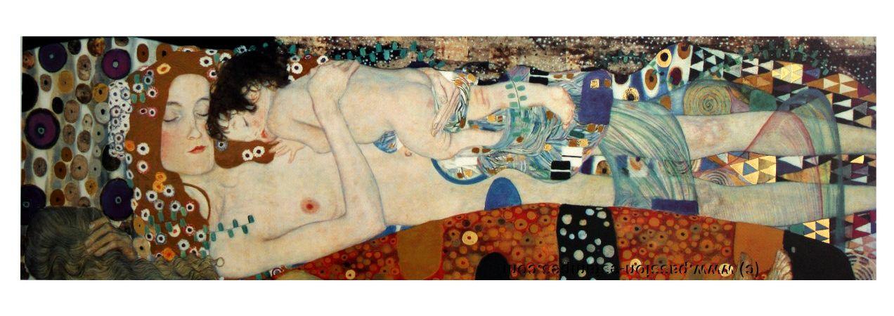 The three ages of woman - Gustav Klimt