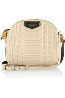 MARC BY MARC JACOBS Downtown Lola two-tone quilted leather shoulder bag