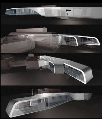 Ordrupgaard Museum Extension in Copenhagen, Denmark by Zaha Hadid Architects
