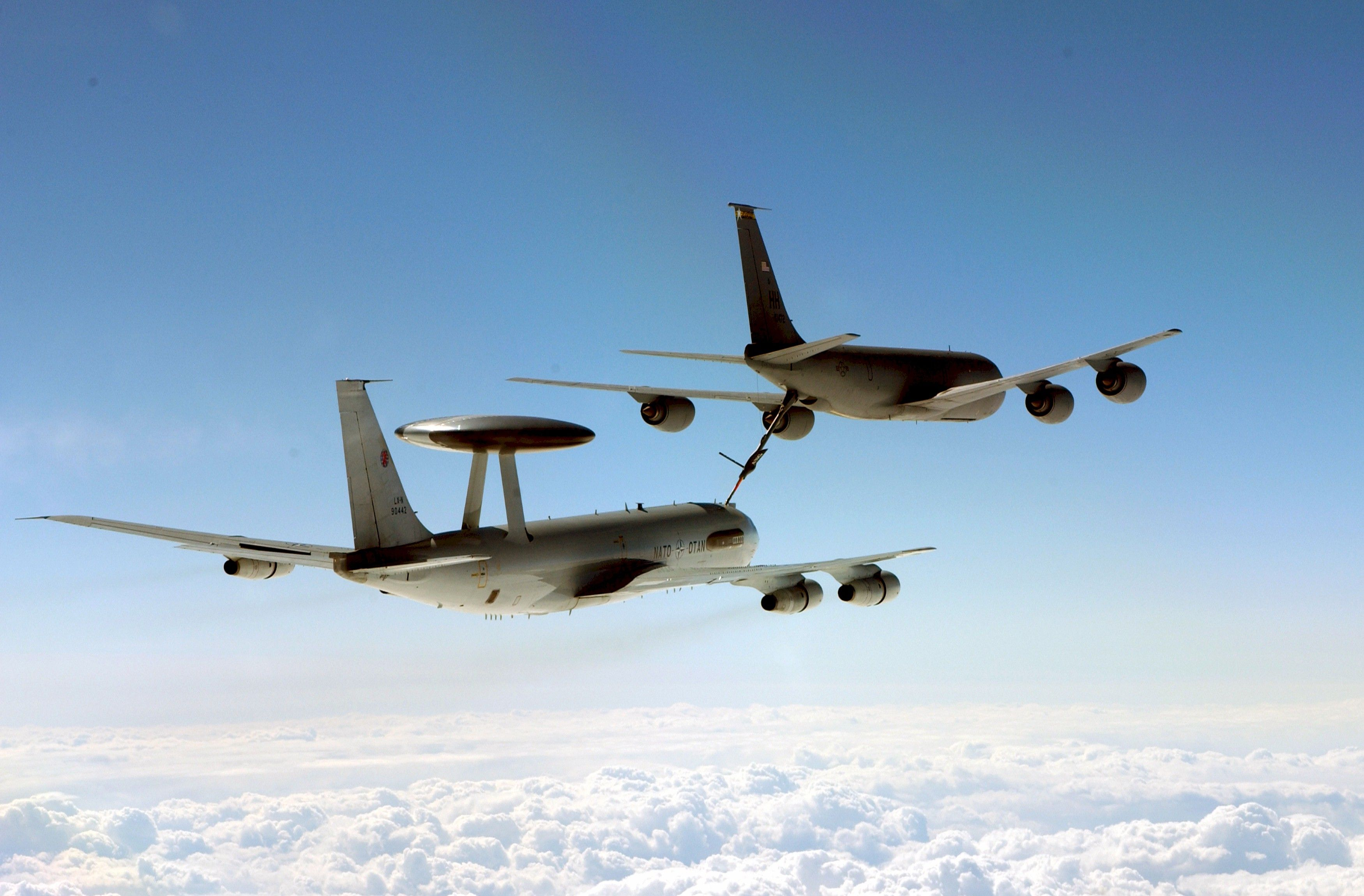 Endeavour Aco Allied Command Operations Awacs To Support Nato Maritime Kc 130 Old Planes Military