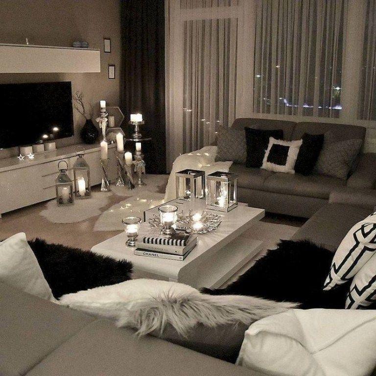 47 Affordable Apartment Living Room Design Ideas On A Budget Apartmentlivingroom Apar Modern Glam Living Room Modern Living Room Inspiration Glam Living Room