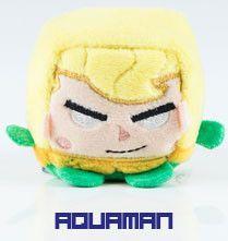 Wish Factory Kawaii Cube DC Comics: Aquaman Plush, Small