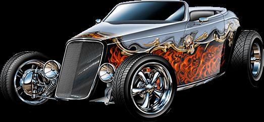 Hot Rod Png Official Psds Automotive Illustration Hot Rods Hot Rods Cars