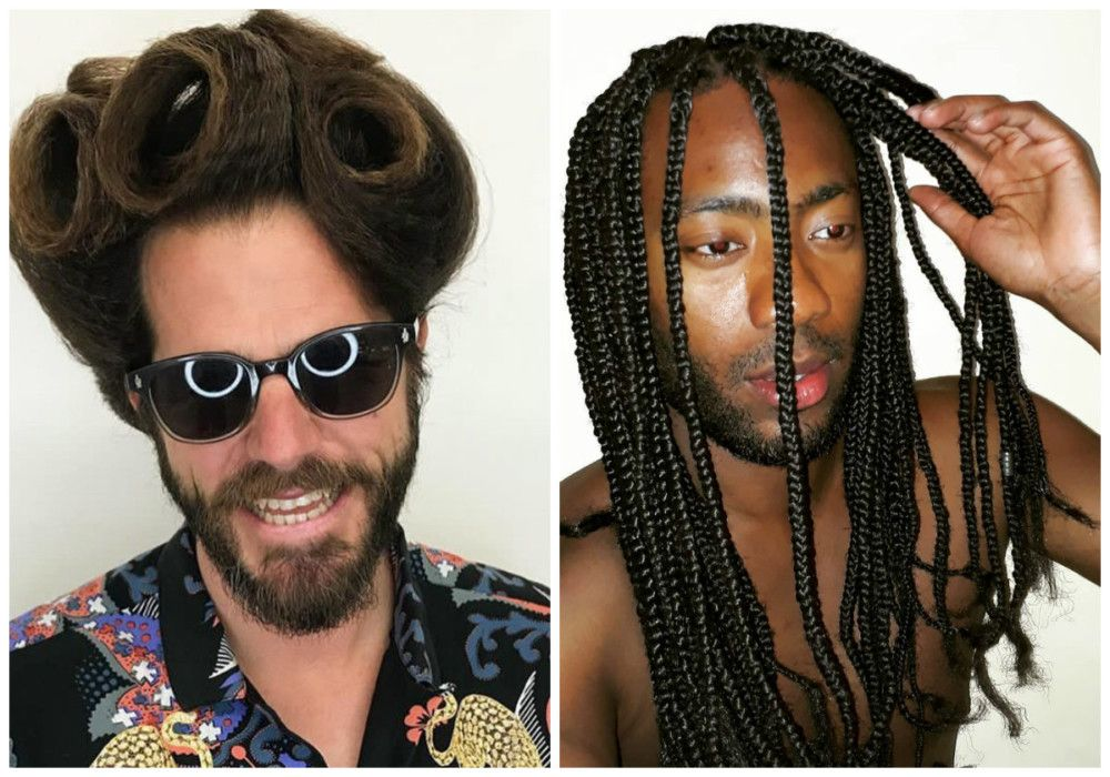 Top 9 Handsome Mens Long Hairstyles 2020 65 Photos Men S Long
