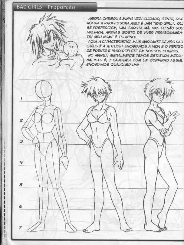Como Desenhar Mangá: Como Desenhar Mangá 02 - Mulheres | The girls ...