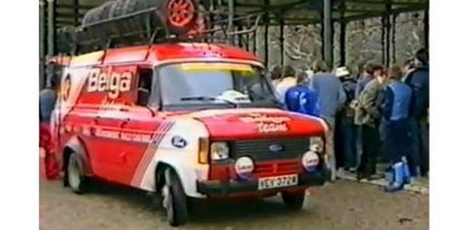 Ford Transit Belga Rally Support Ford Transit Classic Racing