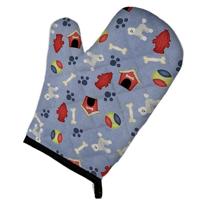 Caroline s Treasures Dog House Collection Poodle Oven Mitt