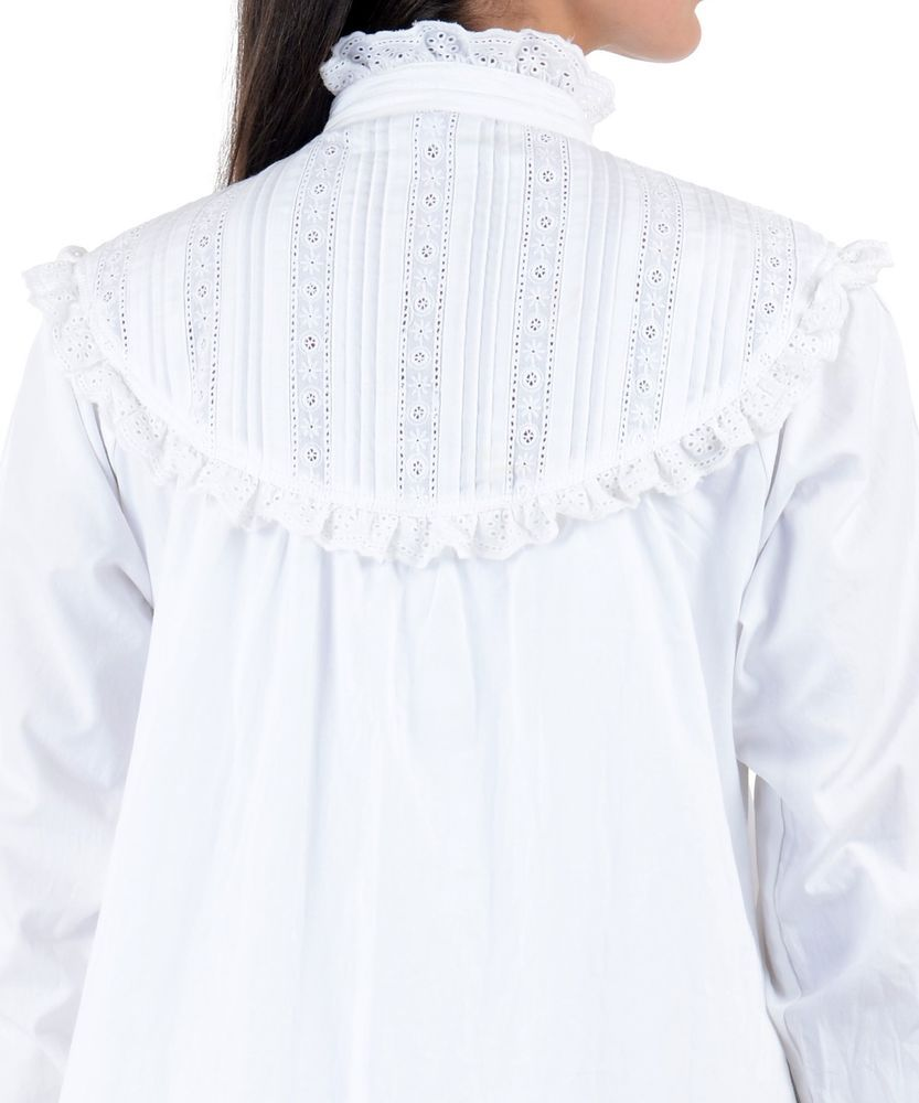 6e1ca2b20f Cotton Lane White Cotton Victorian Nightdress G48WT. Large/Plus Sizes UK 8-34  #CottonLane #Nightdress