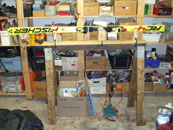 tuning stand overall view another diy ski vice things i need to rh pinterest com