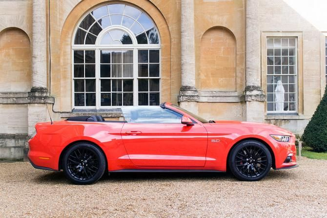 Ford Mustang Convertible Review First Drive With Images Ford